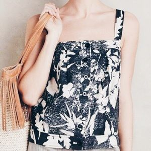Like-New! Anthropologie Floral Top